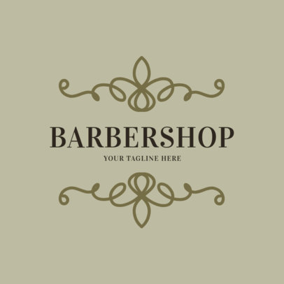 Barbershop Logo Template 1472