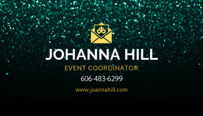 Event Coordinator Business Card Maker 564b