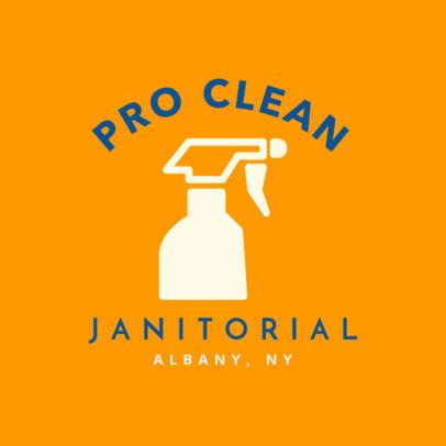 Professional Janitors Logo Creator 1454e