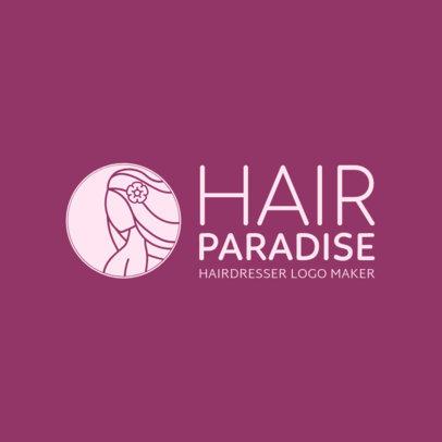 Beauty Hair Service Logo Maker 1470a