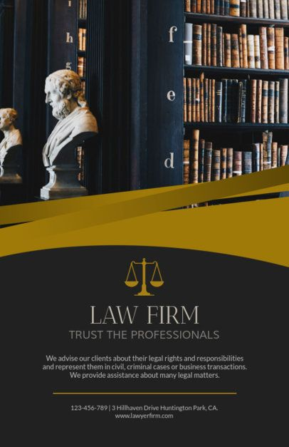 Flyer Maker for Law Firms 691