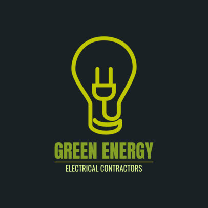 Electric Logo Template for an Electrician 1473