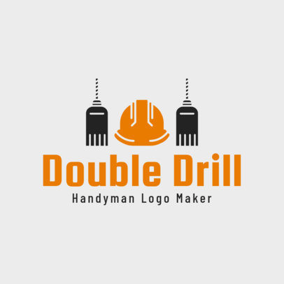 Logo Template for a Handyman 1429d