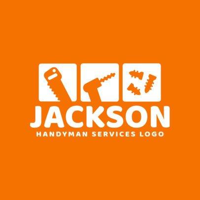 Handyman Services Logo Generator 1429e