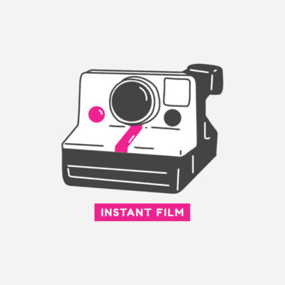 Phone Grip Maker with a Polaroid Camera 676b