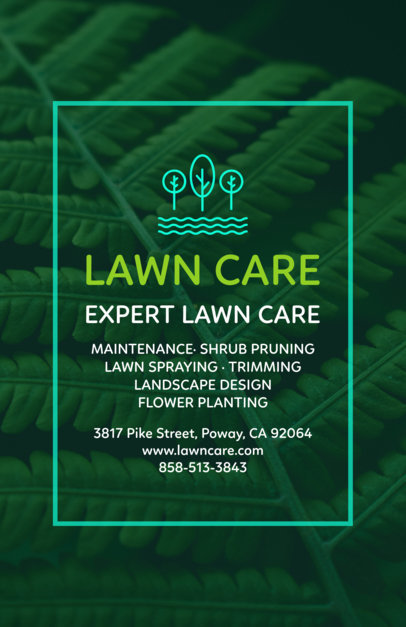Lawn Care Flyer Template 699