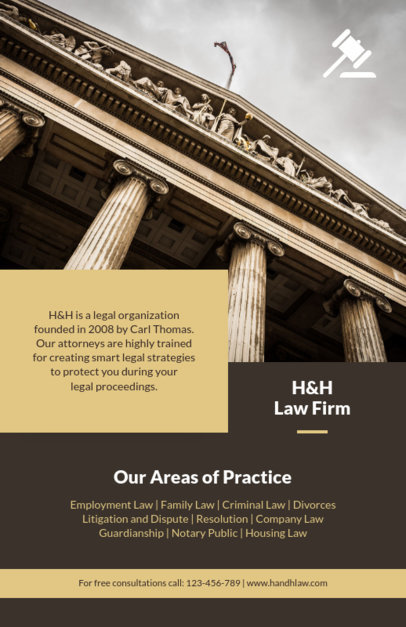 Law Firm Flyer Template 690