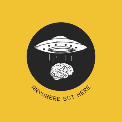 Alien Abduction Popsocket Template 706d