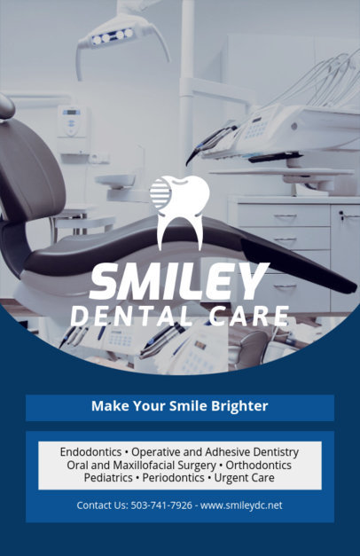 Online Flyer Maker for Dentist Offices 409a