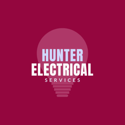 Electrical Technician Online Logo Template 1478b