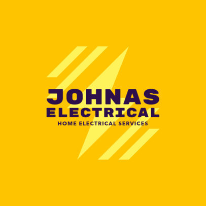 Home Electrical Services Logo Design Template 1478e