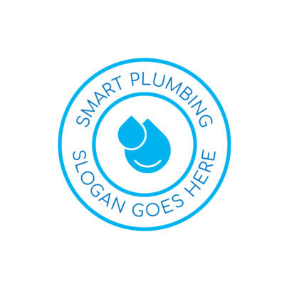Smart Plumbing Logo Maker 1475b