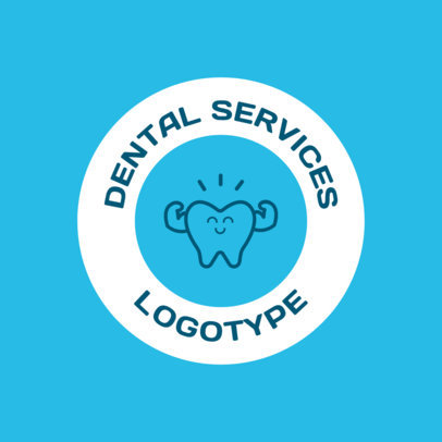 Dental Services Online Logo Maker 1486