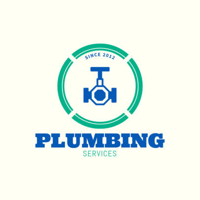 Plumbing Services Logo Generator 1440a