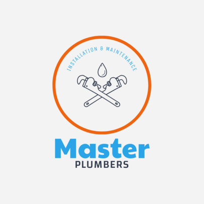 Logo Template for Master Plumbers 1440d