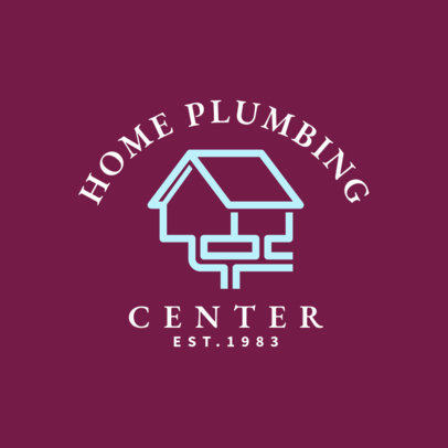 Logo Creator for Home Plumbing Business 1501c