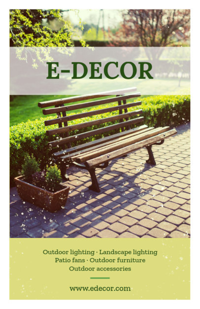 Landscaping Decoration Flyer Template