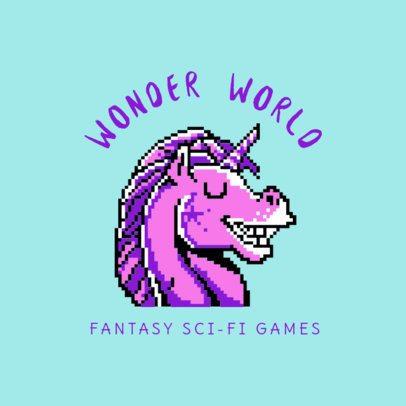 Sci-fi Game Channel Logo Maker 1457b