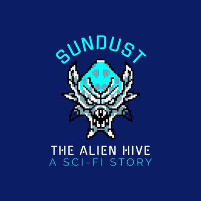 Logo Design Template for Alien Gaming Channel 1457d