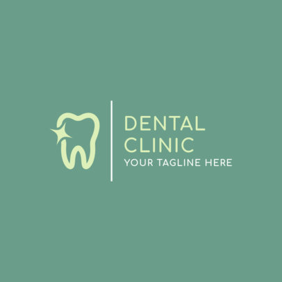 Logo Template for a Dental Clinc 1485d