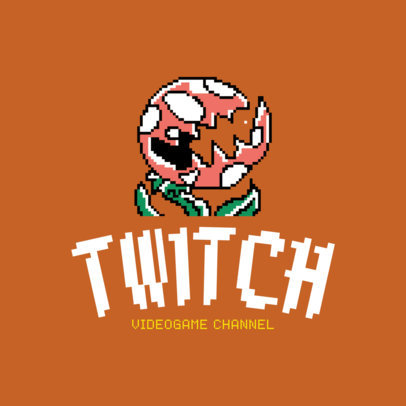 Twitch Game Channel Logo Template 1463