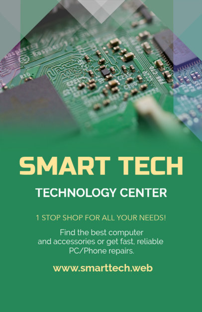 Tech Shop Online Flyer Maker 179b