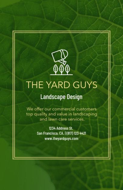 Landscape Design Flyer Maker 699b
