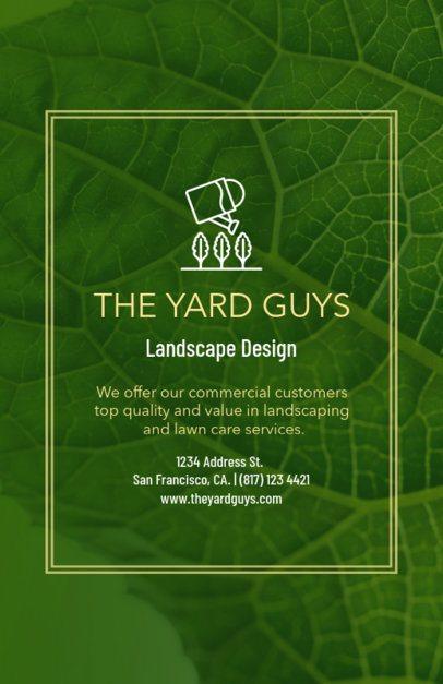 Landscape Design Flyer Maker 699b--1762