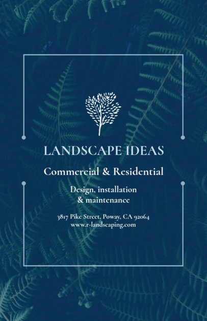 Landscaping Flyer Template 699c