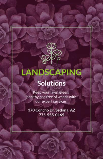 Landscaping Solutions Flyer Maker 699d
