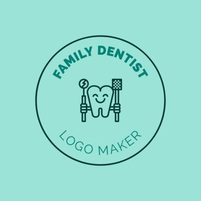 Logo Generator for Family Dentists 1486c