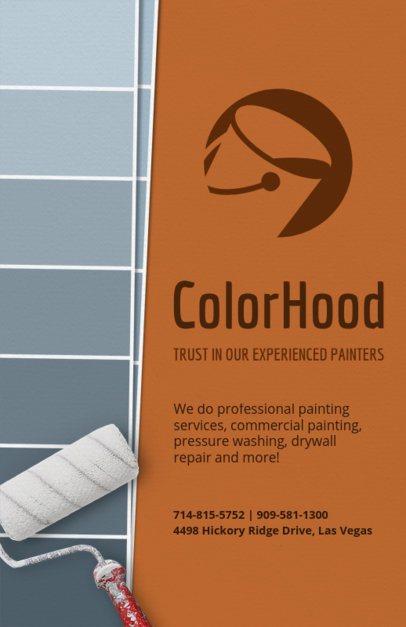 Painter Flyer Template 720a