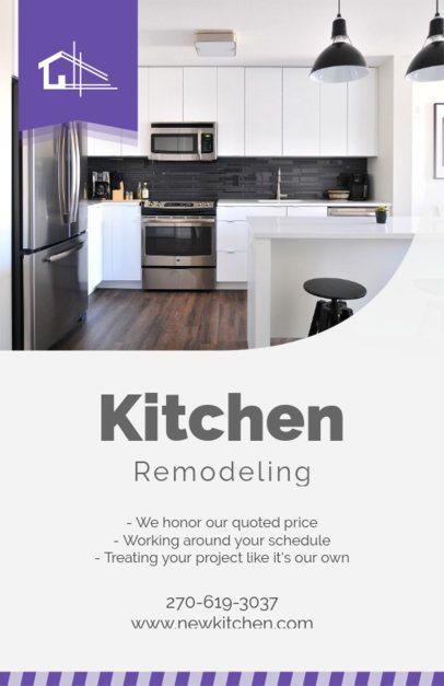 Home Renovation Contractors Flyer Template 714b