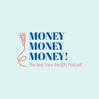 Logo Maker for a Podcast 1448a