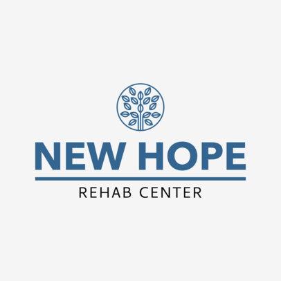 Rehab Center Logo Maker 1509