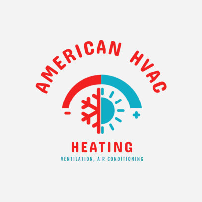 Heating Installation Service Logo Maker 1505d