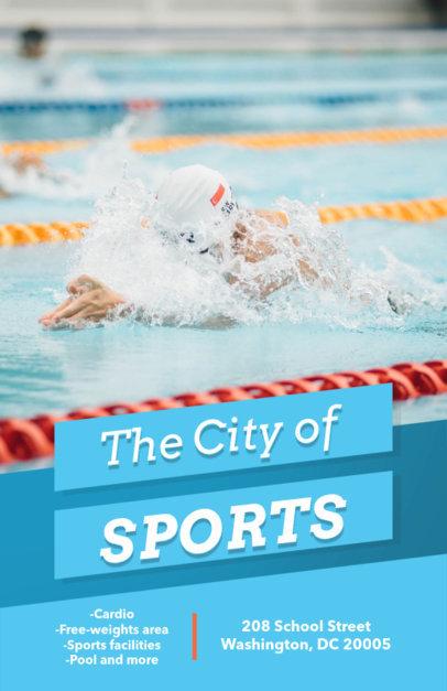 Sports Center Flyer Maker 696d