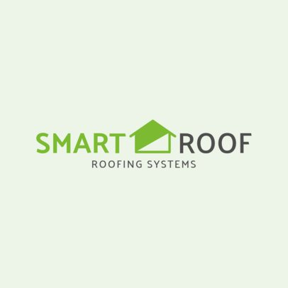 Logo Maker for Roofing Systems Business 1483b