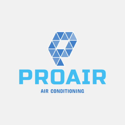 Professional Air Conditioning Service Logo Template 1500d