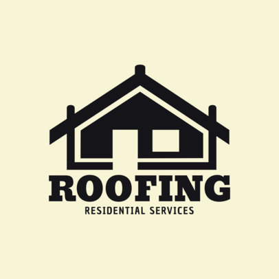 Roofing Logo Maker 1482