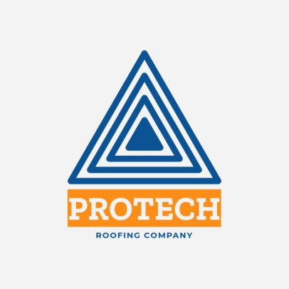 Logo Creator for a Roofing Company 1482e