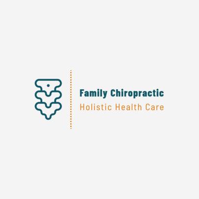 Family Chiropractic Logo Maker 1492b
