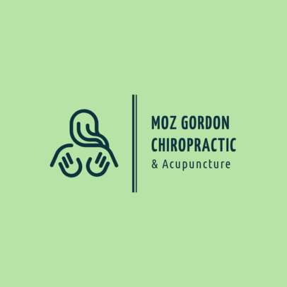 Logo Maker for a Chiropractic and Acupunture Center 1492e