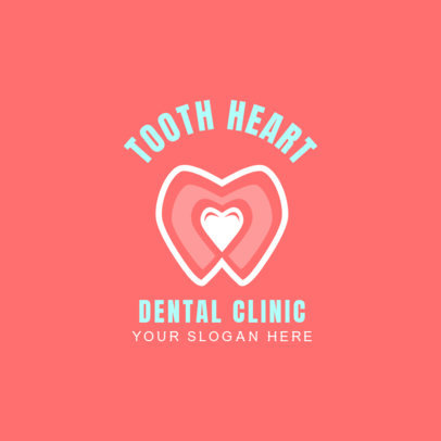 Logo Maker for Dental Clinic with Teeth Graphics 1488b