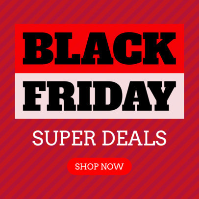 Black Friday Super Sale Ad Banner Template 748