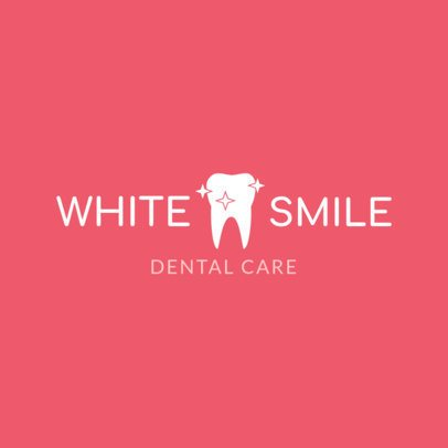 Simple Dental Care Logo Creator 1487a