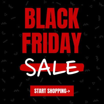 Ad Banner Maker for Black Friday Sales 743