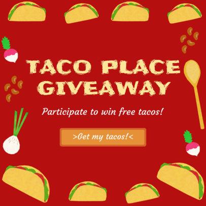 Instagram Post Maker for Taco Giveaway 628d