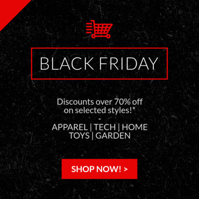 Black Friday Sale Ad Banner Maker  745