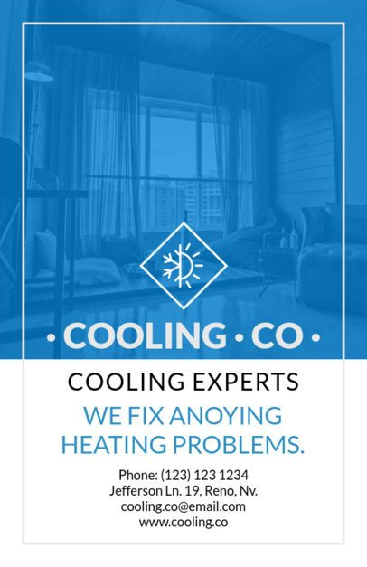 Cooling Company Flyer Template 731
